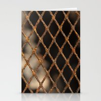 cage Stationery Cards featuring Cage by Bruce Stanfield