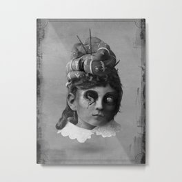The Slither Metal Print