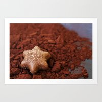 chocolate Art Prints featuring Chocolate by LebensART Photography