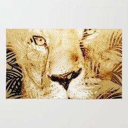 Tiger Palm Rug