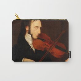 Niccolò Paganini by Daniel Maclise (1831) Carry-All Pouch