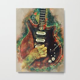 Brian May's electric guitar Metal Print