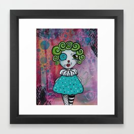 Best Birthday Party Clown EVER! Framed Art Print
