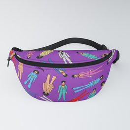 Purple Pattern 2 Fanny Pack