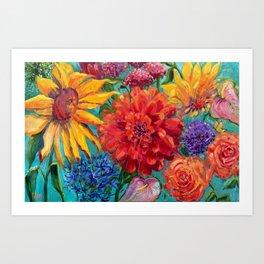 Hello Dahlia! Art Print