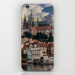Sunny day in Prague iPhone Skin