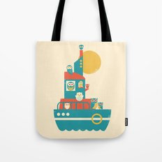 Owl Aboard Tote Bag
