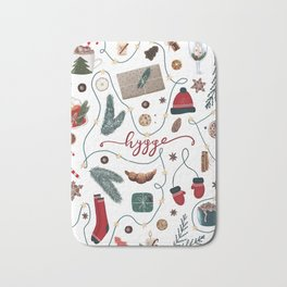 Hygge Christmas Collection Bath Mat