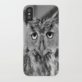 Who Who Me? iPhone Case