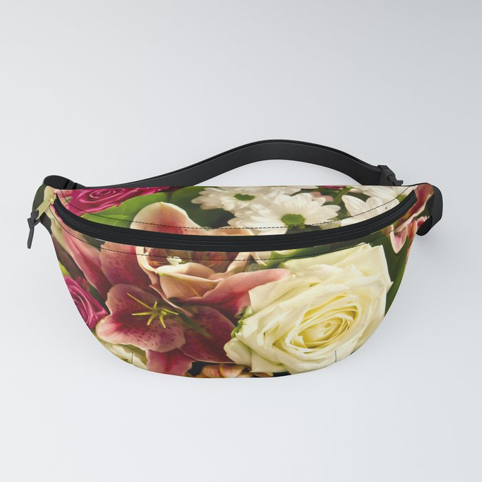 Bouquet Of Flowers Fanny Pack