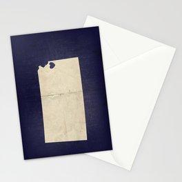 Kansas City, Kansas Love Map Art Stationery Cards