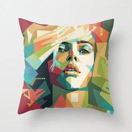 Scarlett Johansson - Mad4U Throw Pillow