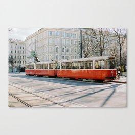 Vienna Tram D Canvas Print