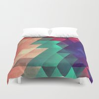 the xx Duvet Covers featuring Xx ymbry by Spires
