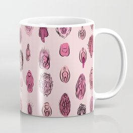 Genitalia diversity - feminism Coffee Mug