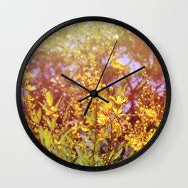 Sun shine on me! Wall Clock