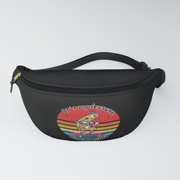 It´s A Pleasure To Eat You Funny Skate Pizza Gifts Fanny Pack