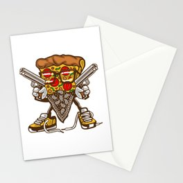 Pizza Assassin Stationery Cards
