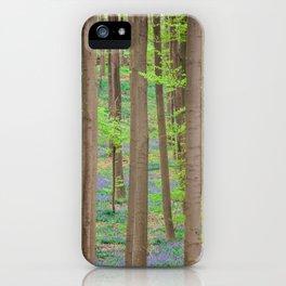 Hallerbos 2 iPhone Case