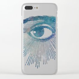Mandala Vision Flower of Life Clear iPhone Case
