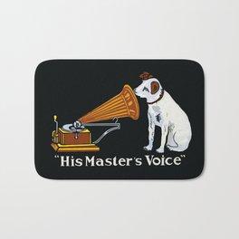 Retro his master's voice, Nipper the Dog Bath Mat