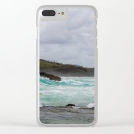 Fraser Island- Waves Clear iPhone Case