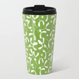 Rustic Mistletoe - Greenery Travel Mug
