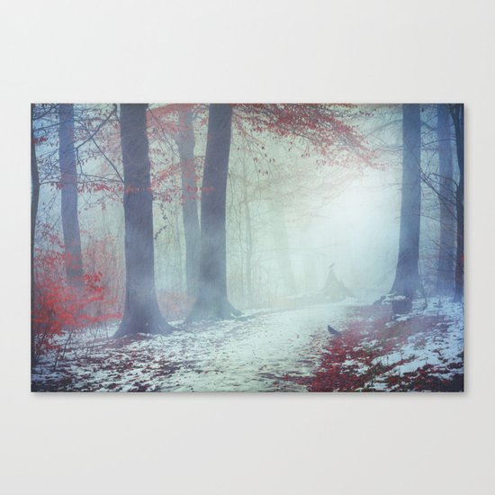 Snow Glow Canvas Print