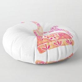 Vintage Rotary Phone – Peach Palette Floor Pillow