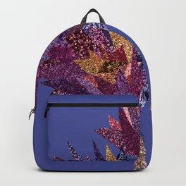 Purple flower bunch (blueviolet) Backpack