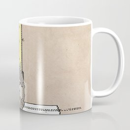 patent - Edison - Electric Lights - 1880 Coffee Mug