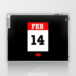 VALENTINES DAY 14 FEB - A SUBTLE REMINDER - A DATE TO BE REMEMBERED! Laptop & iPad Skin