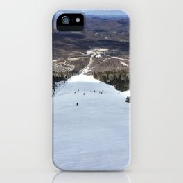 Skiing Superstar, Killington iPhone Case