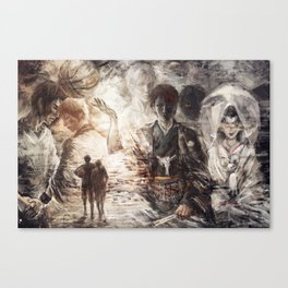 Farewell to the legend Canvas Print