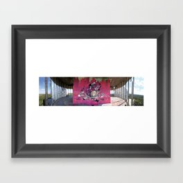 Dont Worry - Party Hard (Pink) Framed Art Print