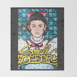 Small Wonder  Throw Blanket