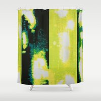 clear Shower Curtains featuring Clear by Elyce Abrams