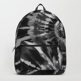 Black Tie Dye Backpack