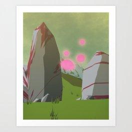 Day 0424 /// Toofar, travel Art Print
