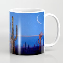 Night in the desert Coffee Mug
