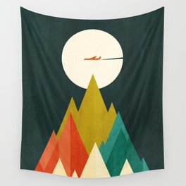 Life is a travel Wall Tapestry