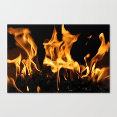 Fires of Hell Canvas Print