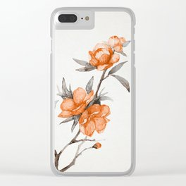 flowers / 65 Clear iPhone Case