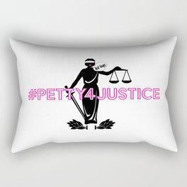 #Petty4Justice Rectangular Pillow
