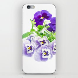 pansy 06 iPhone Skin