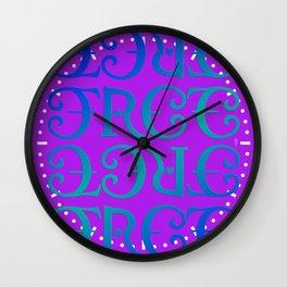 Free love version 2 Wall Clock