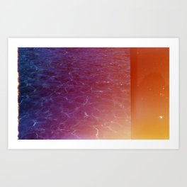 Looking for Gold Art Print