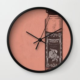A Cure for All-nighters by Austin Moore Wall Clock