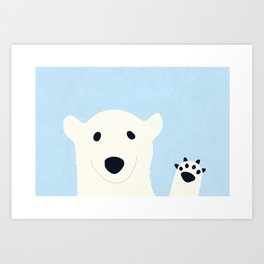 why hello there Art Print