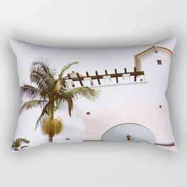 Santa Barbara Vibes Rectangular Pillow